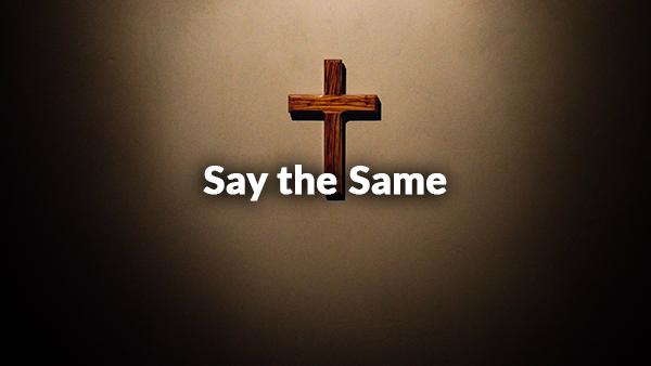Say the Same