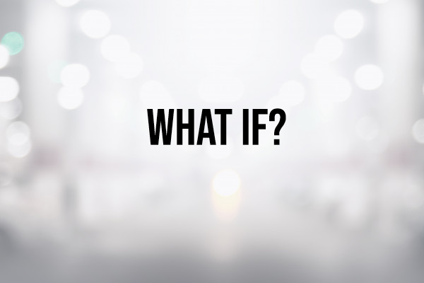 Sunday Snapshot: What If? 4/12/20