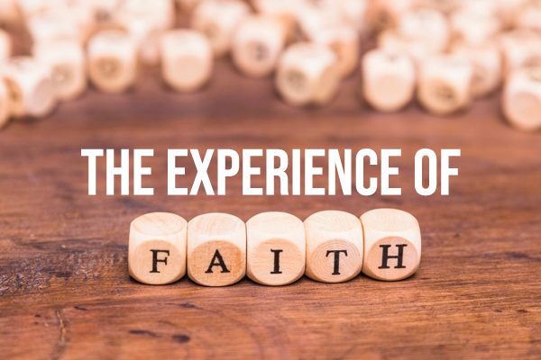 "Sunday Snapshot: The ""Experience of Faith"" 4/26/20"