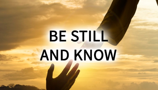 Sunday Snapshot:  Be Still and Know 5/10/20