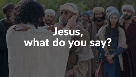 Jesus, what do you say? (11-22-2020)