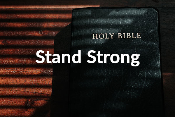 Stand Strong (11-8-2020)